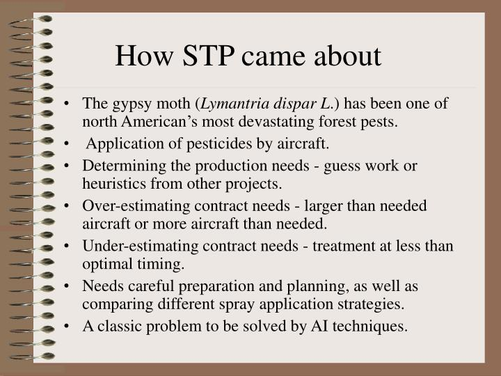 How STP came about