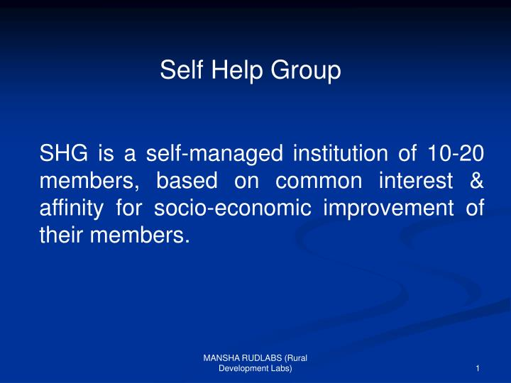 Self Help Group