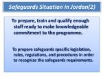 safeguards situation in jordan 2