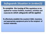 safeguards situation in jordan 3