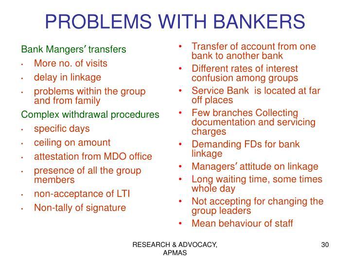Bank Mangers