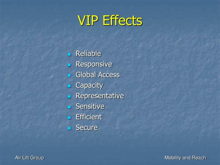 VIP Effects