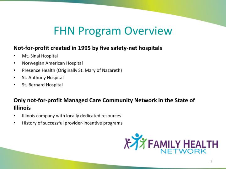 FHN Program Overview