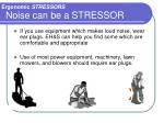 noise can be a stressor2