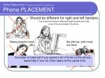 office ergonomics the right equipment the right place phone placement