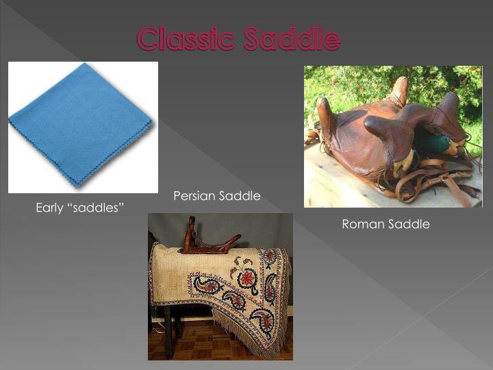 Classic Saddle