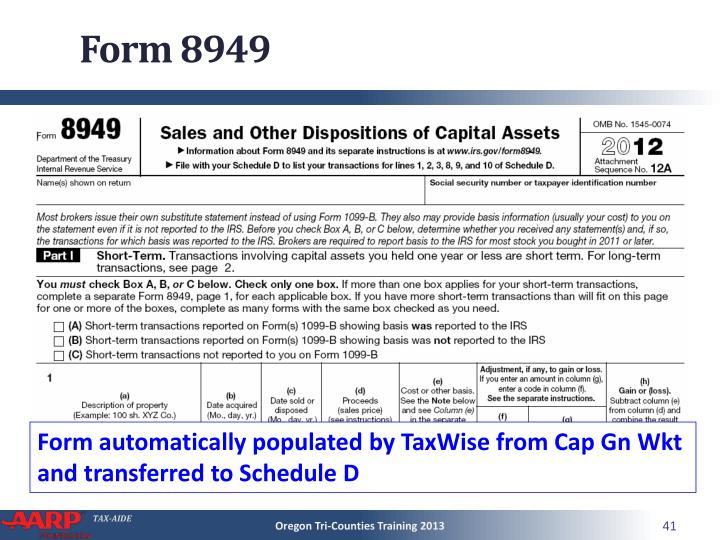 Form 8949