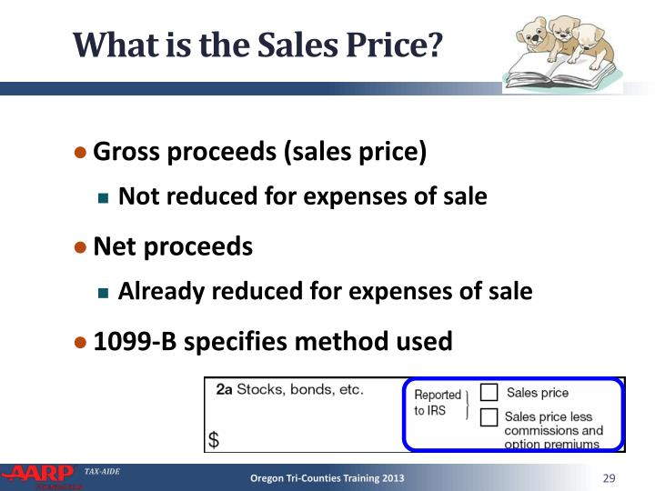 What is the Sales Price?