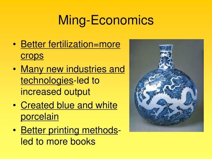 Ming-Economics