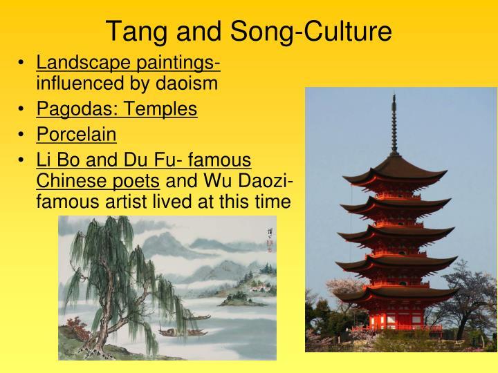 Tang and Song-