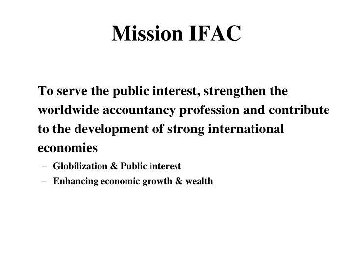 Mission IFAC
