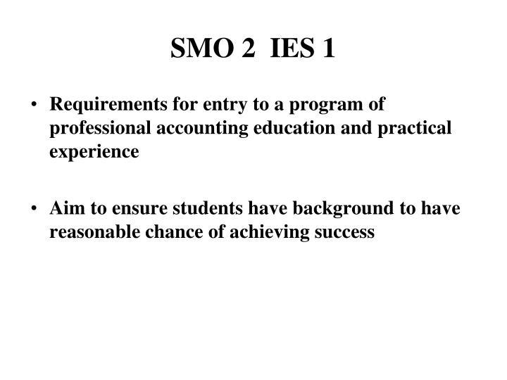 SMO 2  IES 1