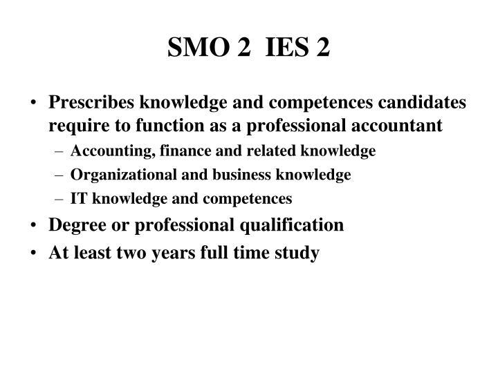 SMO 2  IES 2
