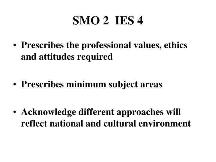 SMO 2  IES 4