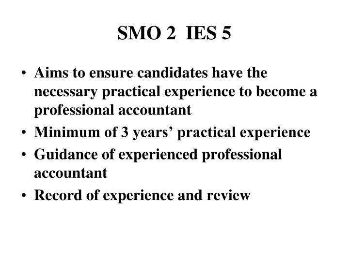 SMO 2  IES 5