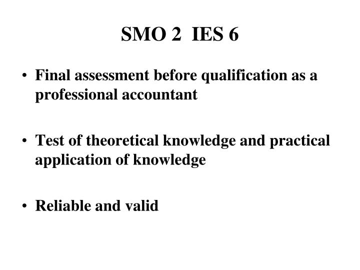SMO 2  IES 6