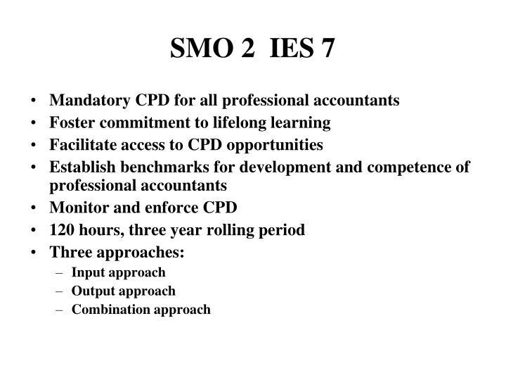 SMO 2  IES 7