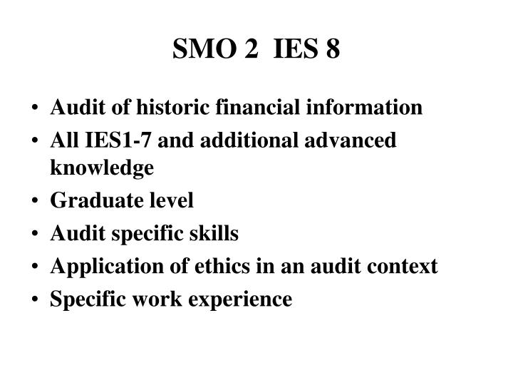 SMO 2  IES 8