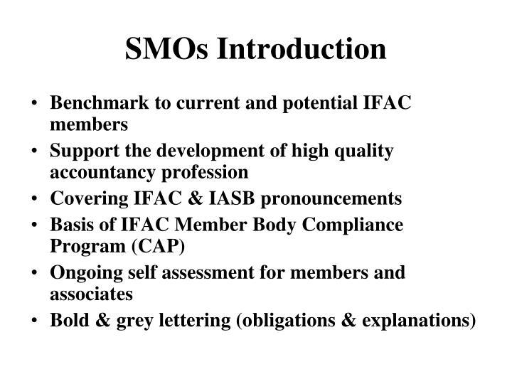 SMOs Introduction