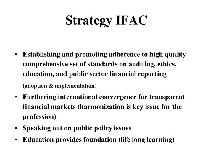 Strategy IFAC