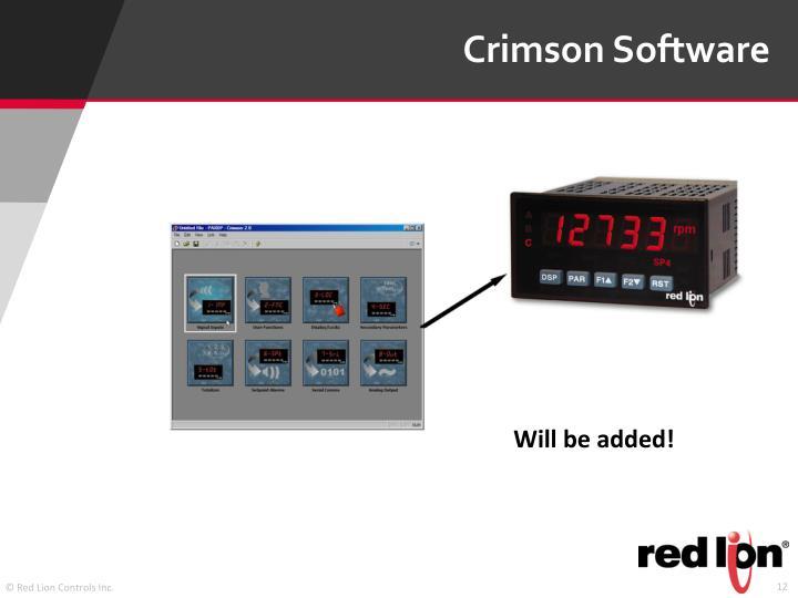 Crimson Software