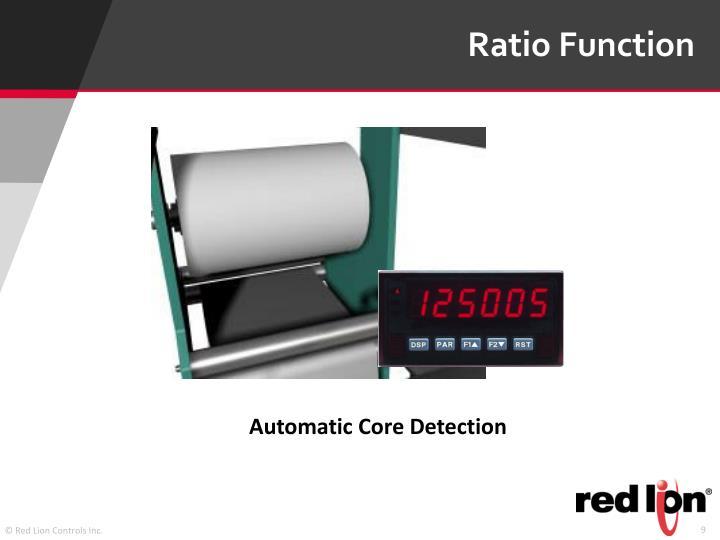 Ratio Function