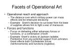 facets of operational art4