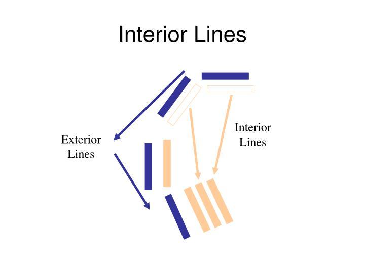 Interior Lines