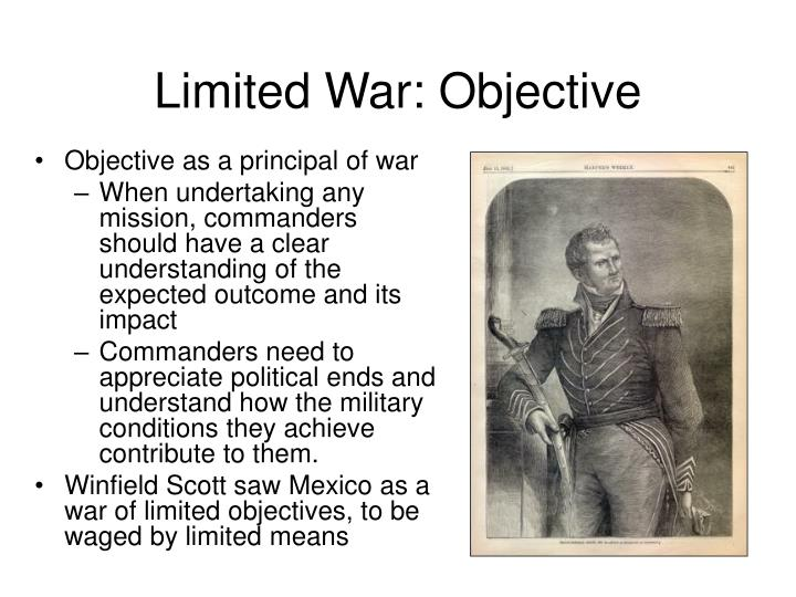Limited War: Objective