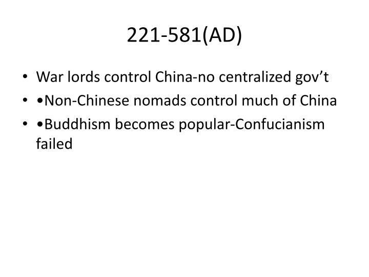 221-581(AD)