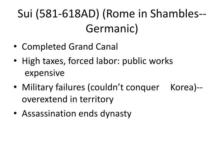 Sui (581-618AD