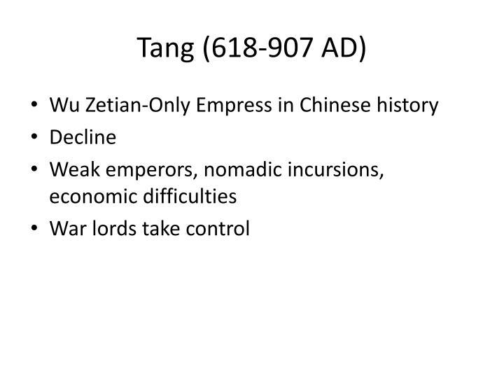 Tang (618-907 AD)