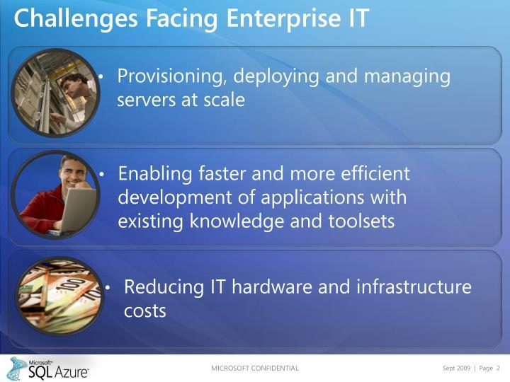 Challenges Facing Enterprise IT