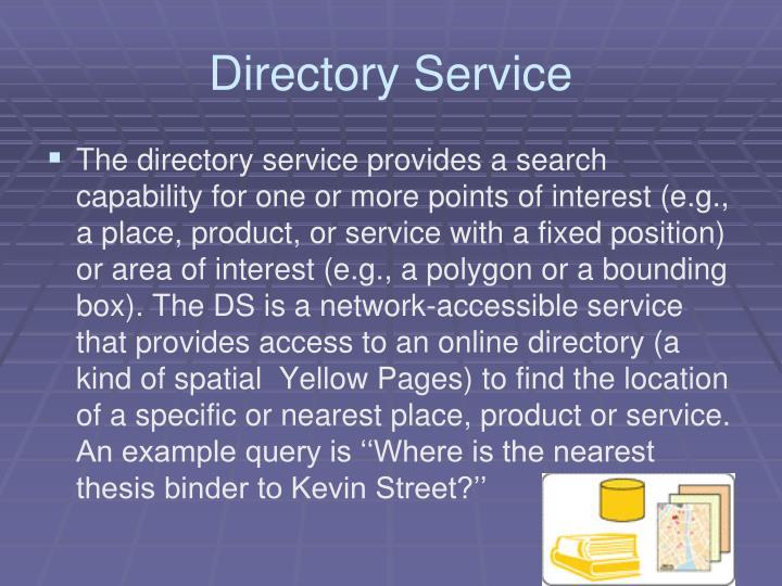 Directory Service