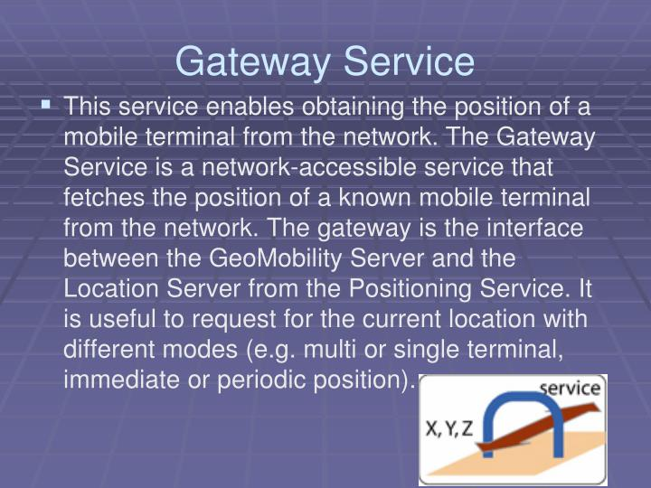 Gateway Service