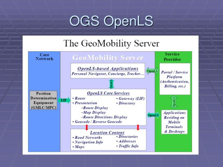 OGS OpenLS