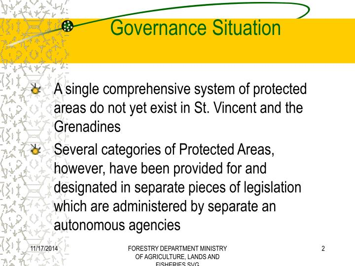 Governance situation