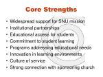 core strengths
