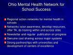 ohio mental health network for school success