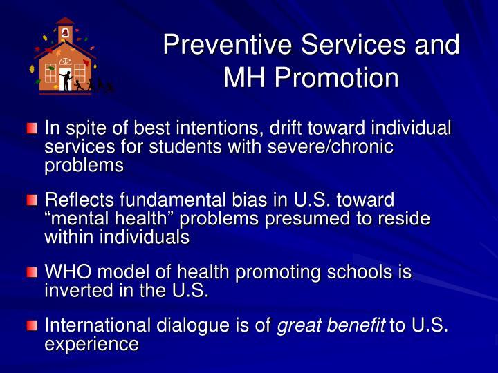 Preventive Services and