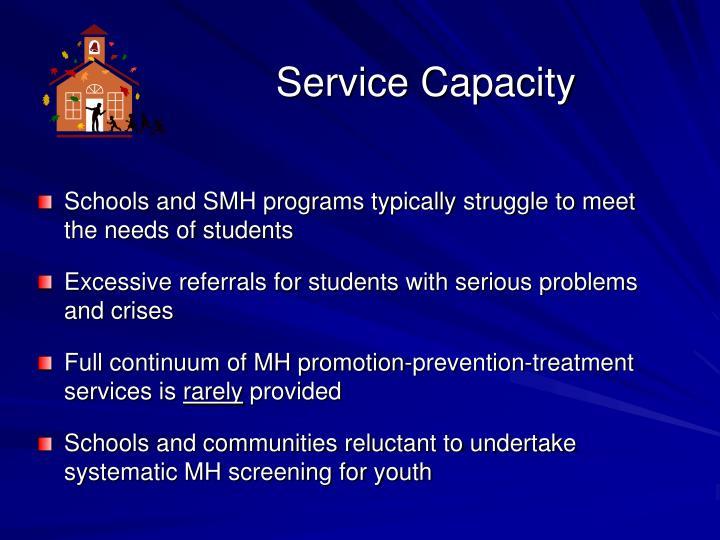 Service Capacity