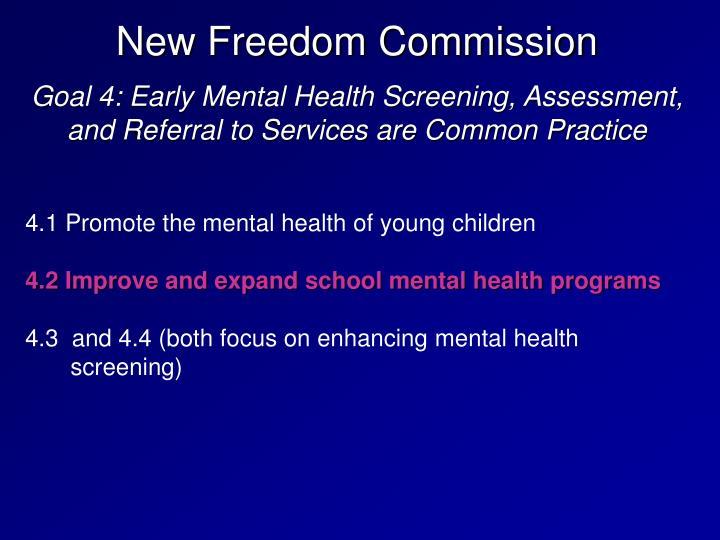 New Freedom Commission