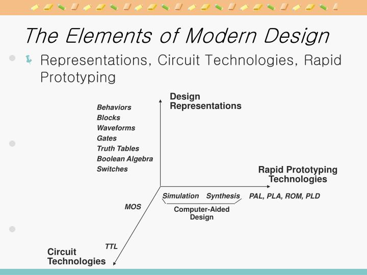 The Elements of Modern Design