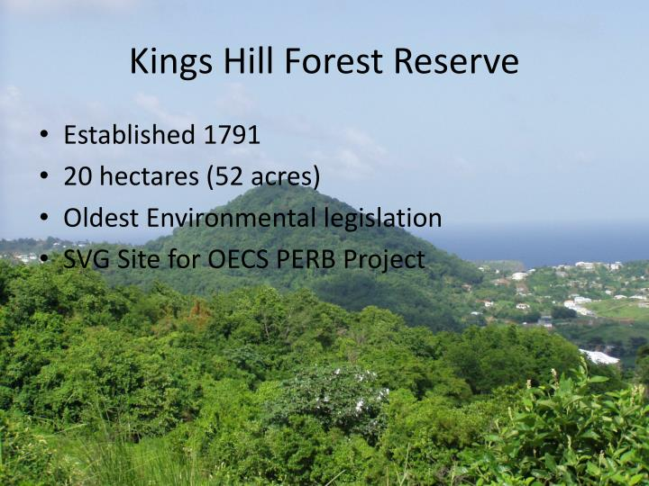 Kings Hill Forest Reserve