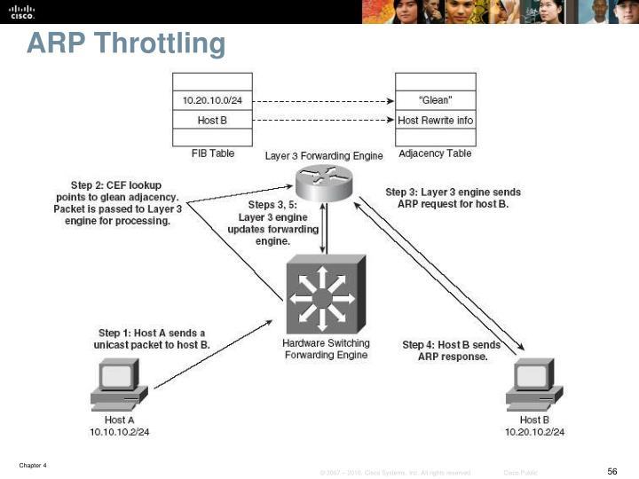 ARP Throttling