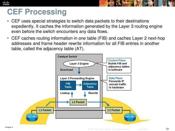 CEF Processing