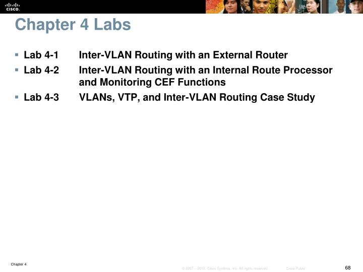 Chapter 4 Labs