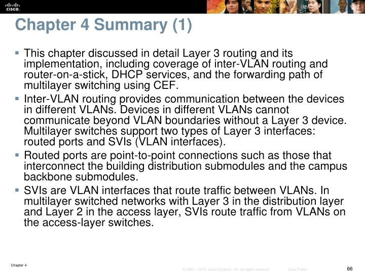 Chapter 4 Summary (1)