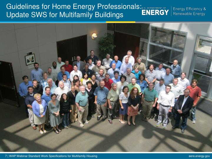 Guidelines for Home Energy Professionals: