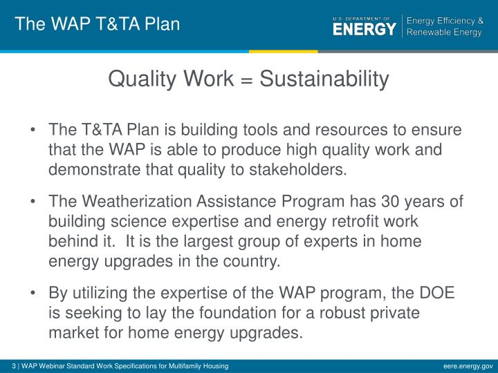 The wap t ta plan